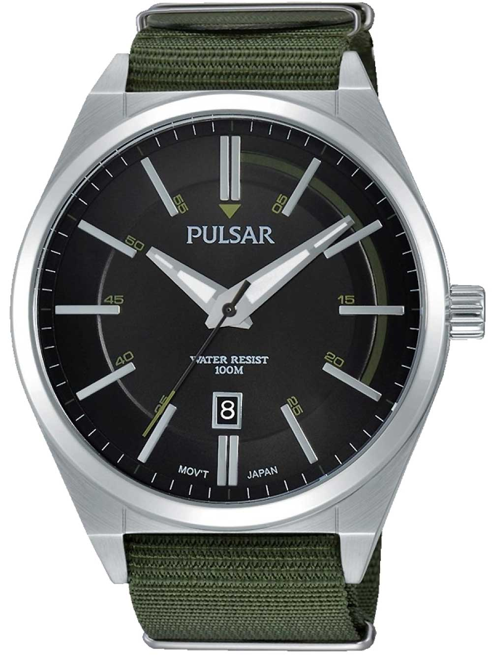 Pulsar PS9357X1 Herrenuhr 45mm 10ATM