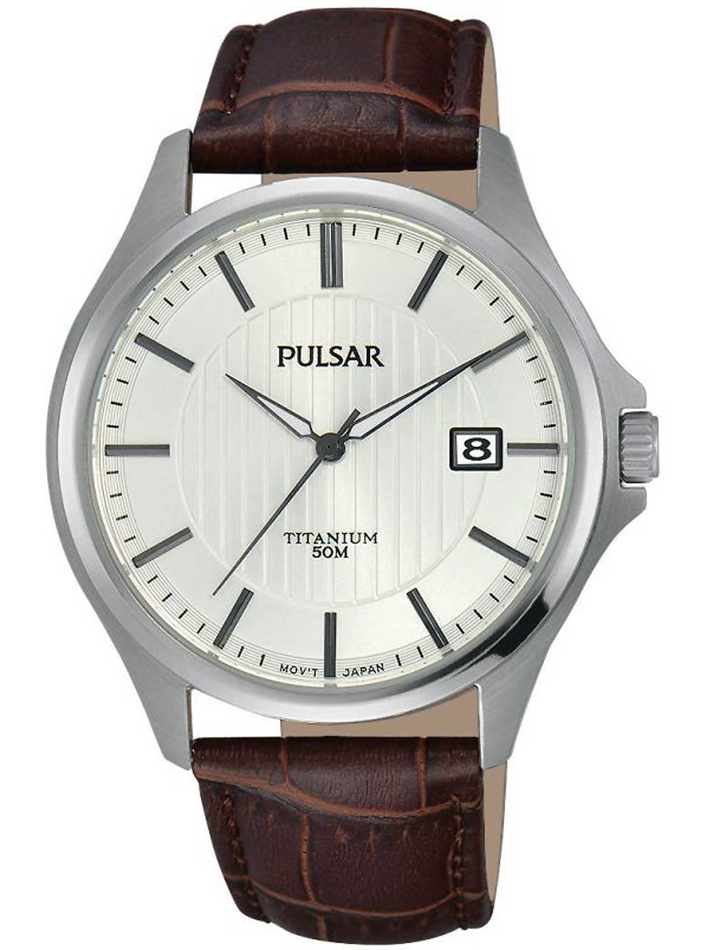 Pulsar PS9435X1 Herrenuhr Titanium 40mm 5ATM