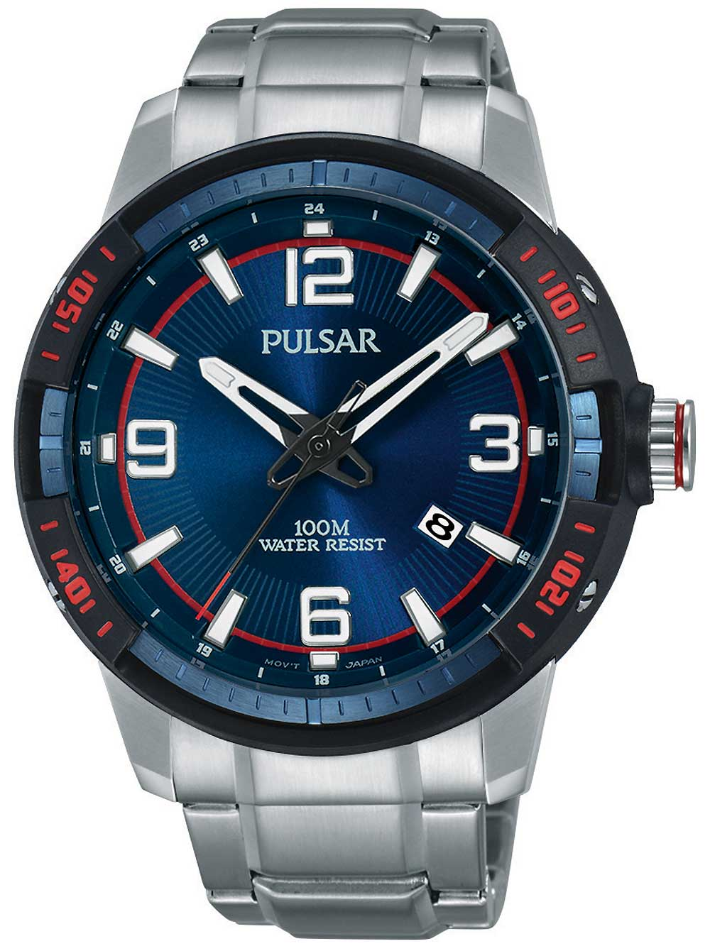 Pulsar PS9477X1 Herrenuhr 45mm 10ATM