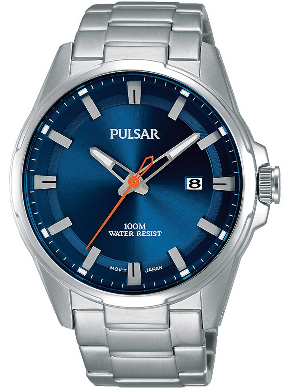 Pulsar PS9505X1 Herrenuhr 43mm 10ATM