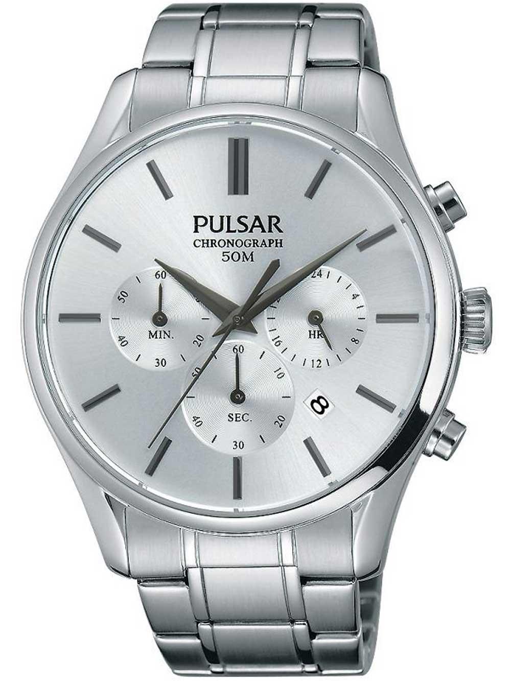Pulsar PT3775X1 Chronograph 43mm 5ATM