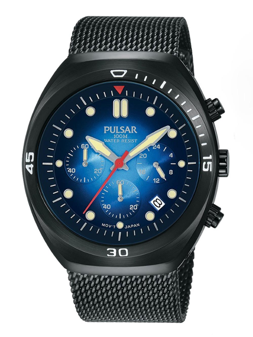 Pulsar PT3951X2 Chrono m. Wechselarmband 42mm 10ATM
