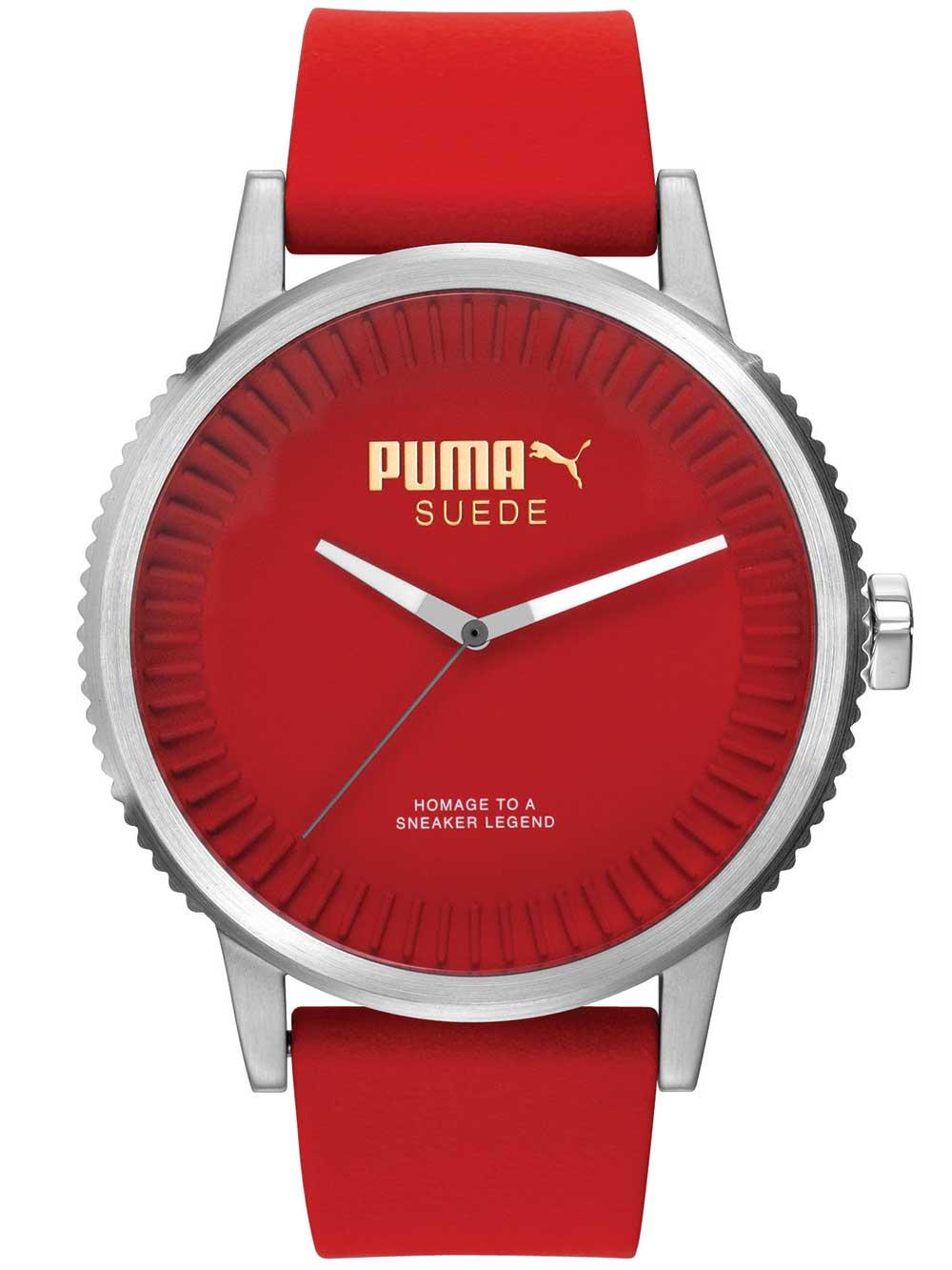 Puma PU104101004 Suede Herrenuhr 46mm 10ATM