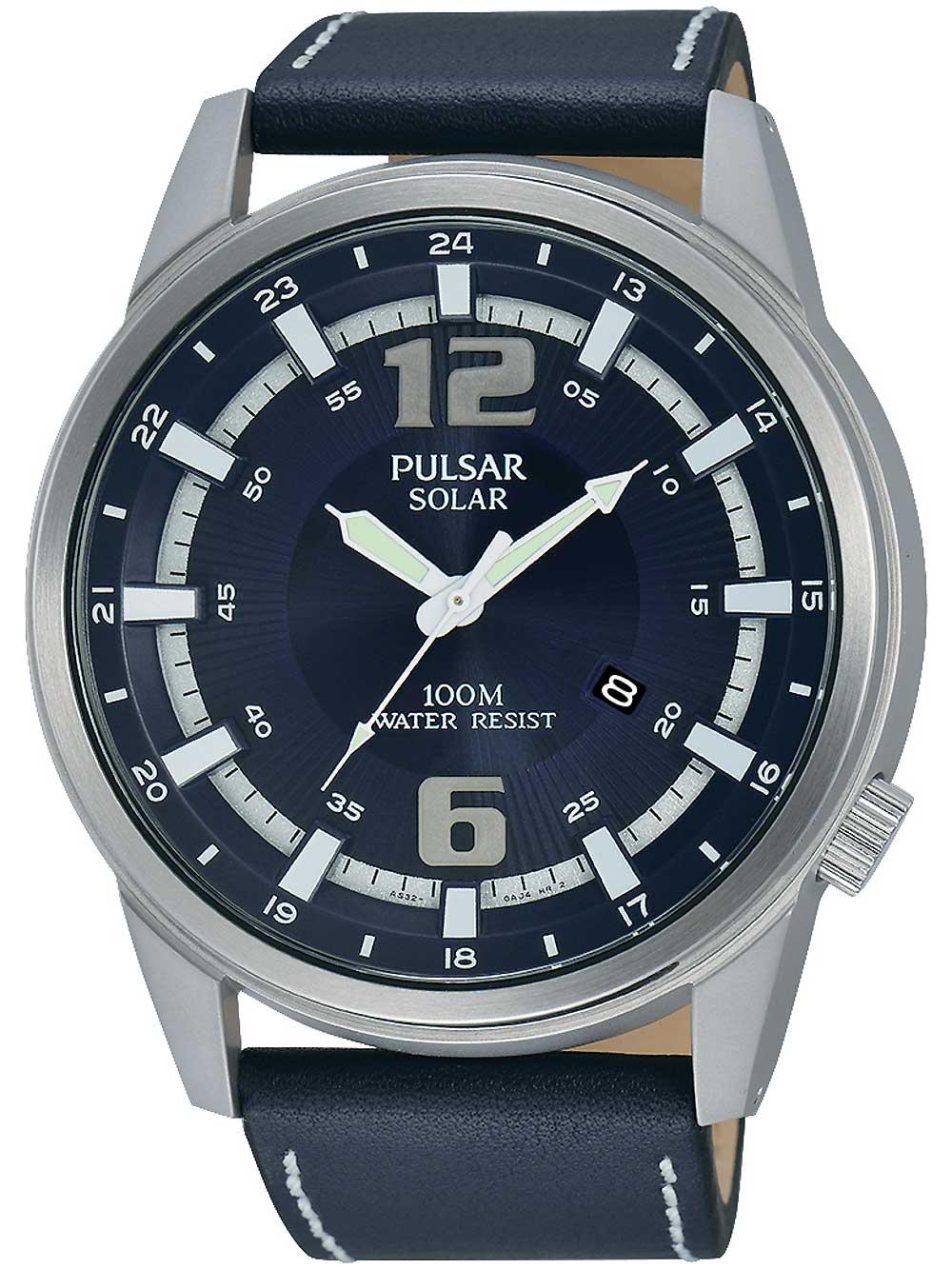 Pulsar PX3083X1 Solar Herrenuhr 47mm 10ATM