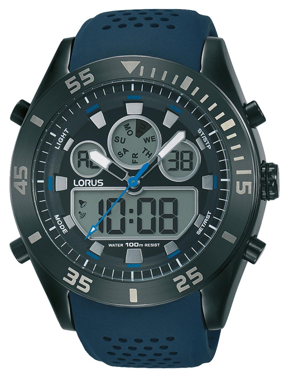 Lorus R2337LX9 AnaDigi Chronograph 46mm 10ATM