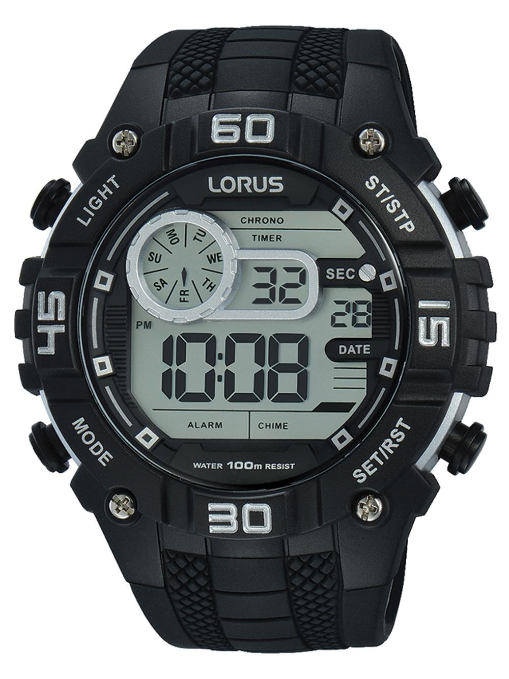 Lorus R2351LX9 Digi Chronograph 50mm 10ATM