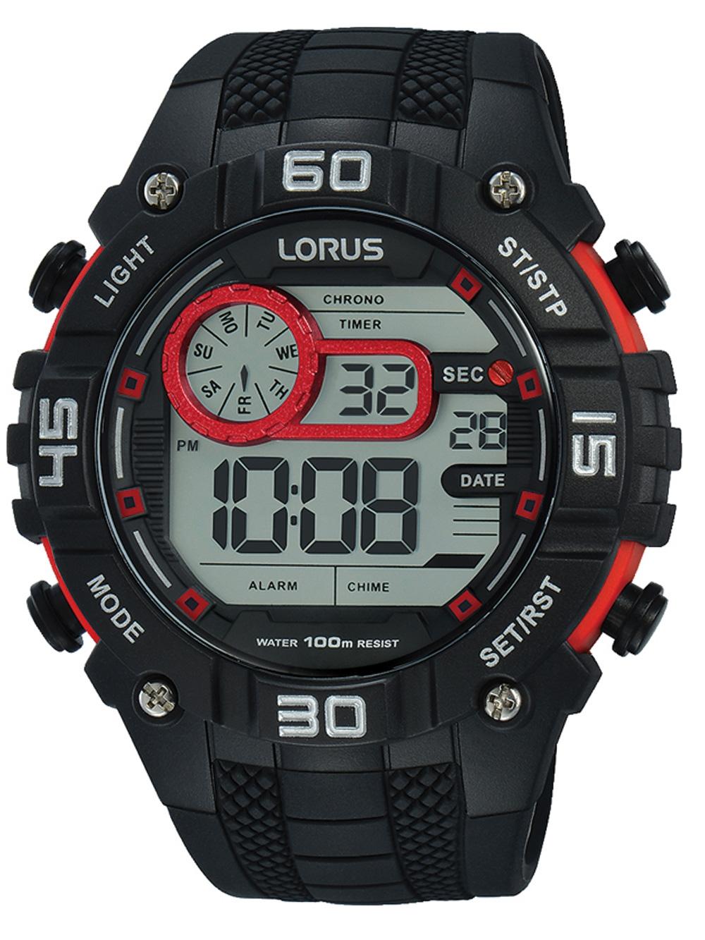 Lorus R2355LX9 Digi Chronograph 50mm 10ATM