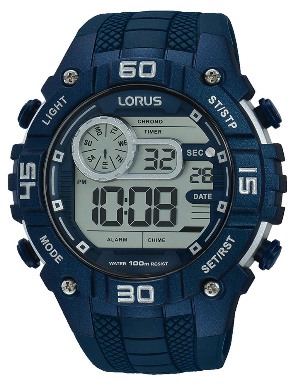 Lorus R2357LX9 Digi Chronograph 50mm 10ATM