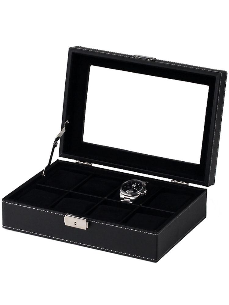 Rothenschild Uhrenkiste RS-3361-8BL fuer 8 Uhren black | Uhren > Uhrenboxen | Rothenschild