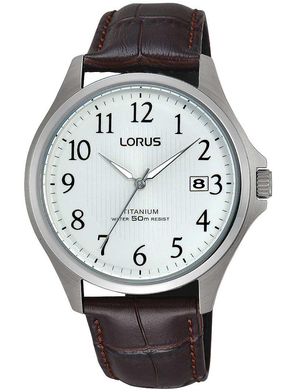 Lorus RS937CX9 Titanium Herren 38mm 5ATM