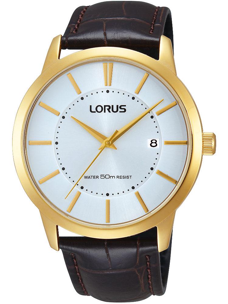 Lorus RS956BX9 goldene Herrenuhr 50M 42mm