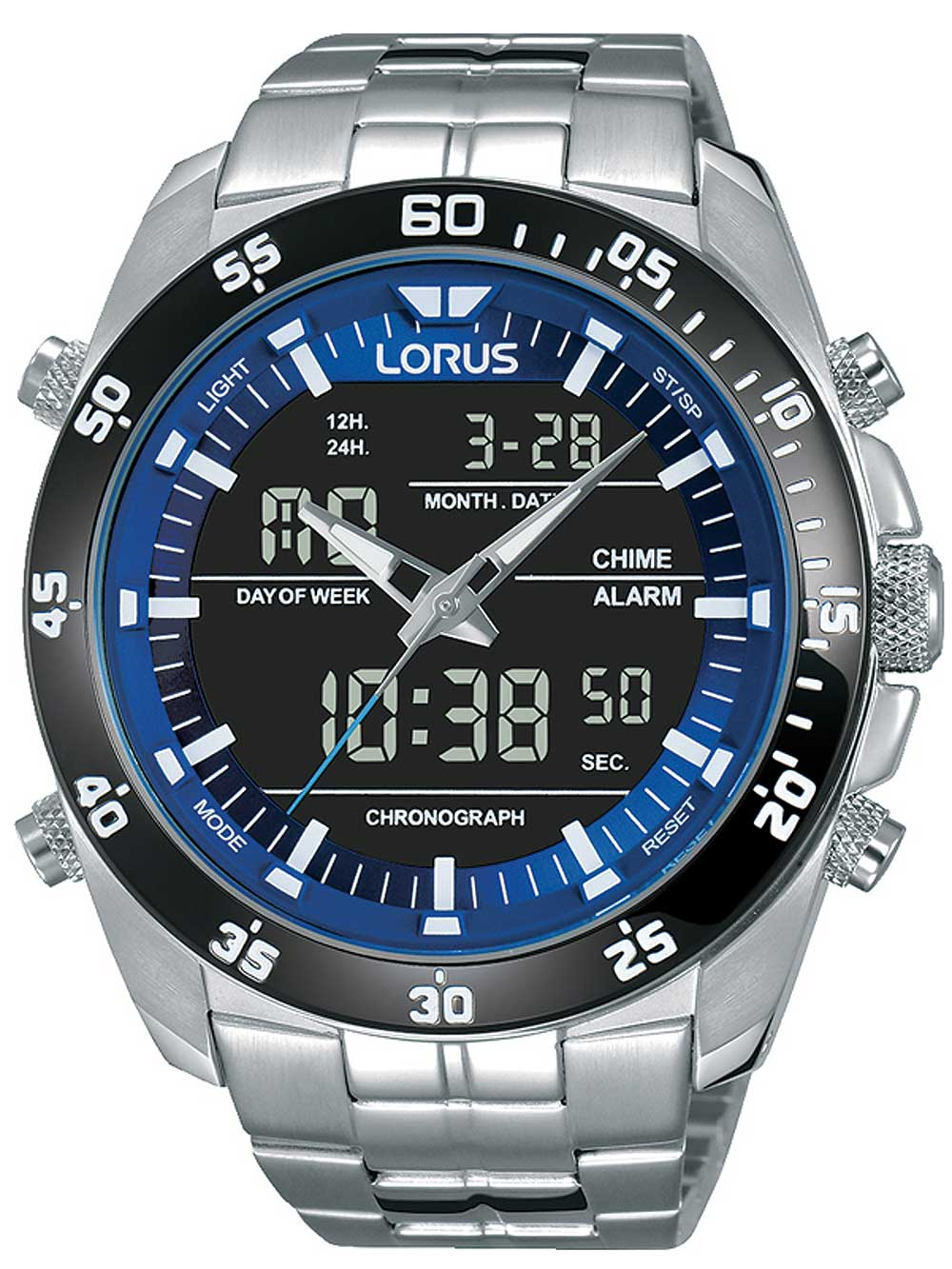 RW629AX9 Analog-Digital Chrono 46mm 10ATM