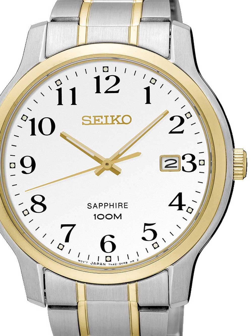 Seiko SGEH68P1 Herrenuhr Saphirglas 41mm 10ATM