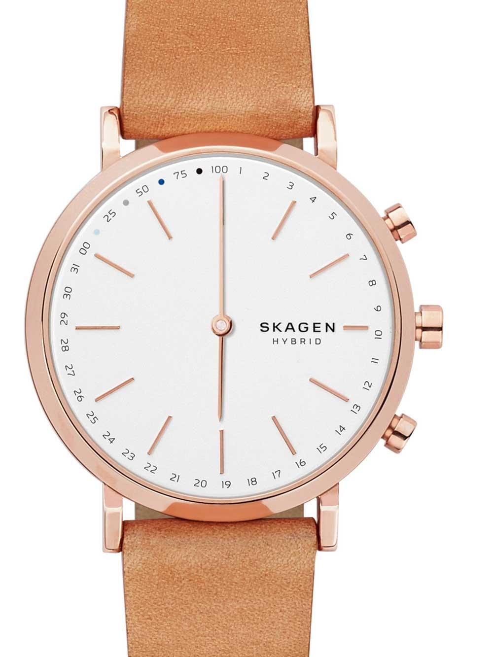 Skagen SKT1204 CA Hald Rosego Hybrid Smartwatch Damen 40mm 3ATM