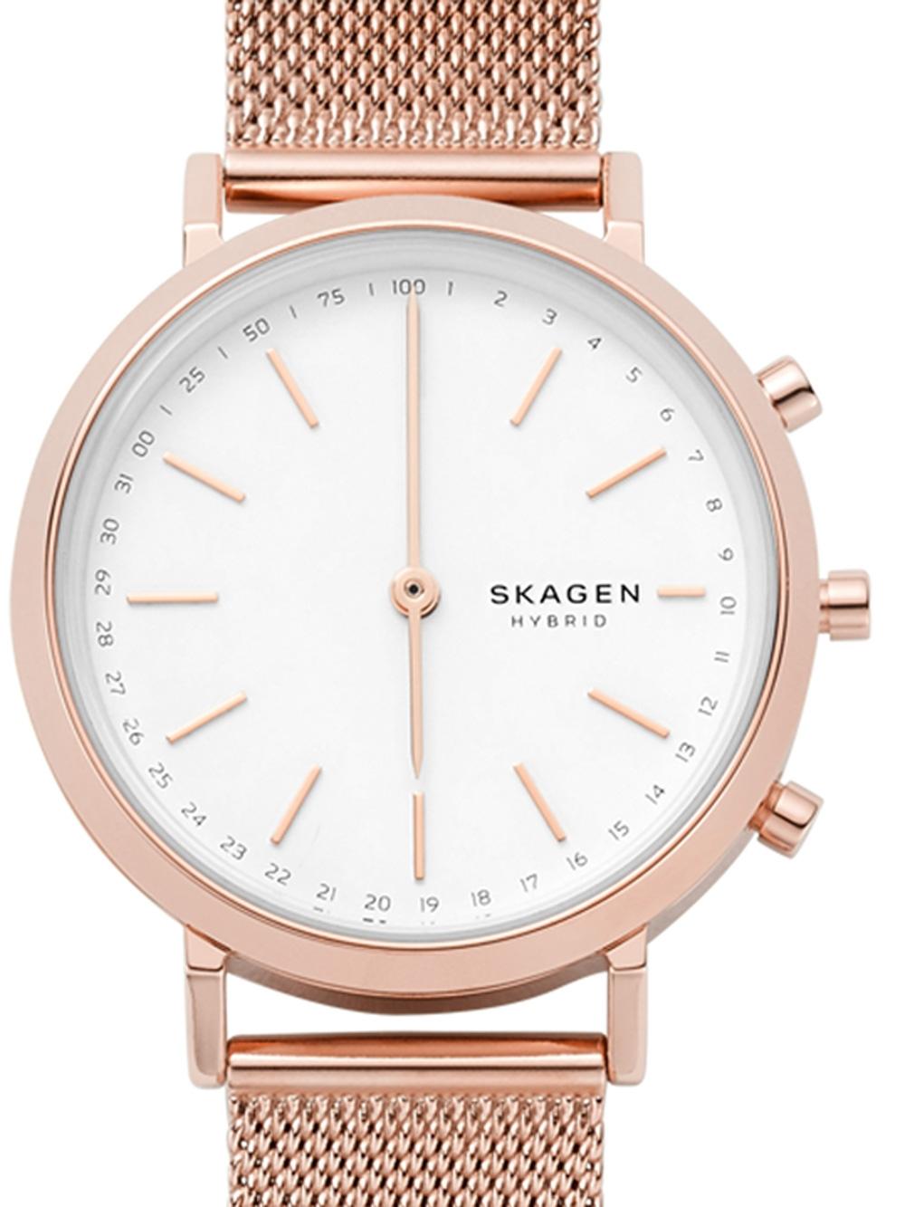 Skagen SKT1411 Hald Hybrid Smartwatch Damen 34mm 3ATM
