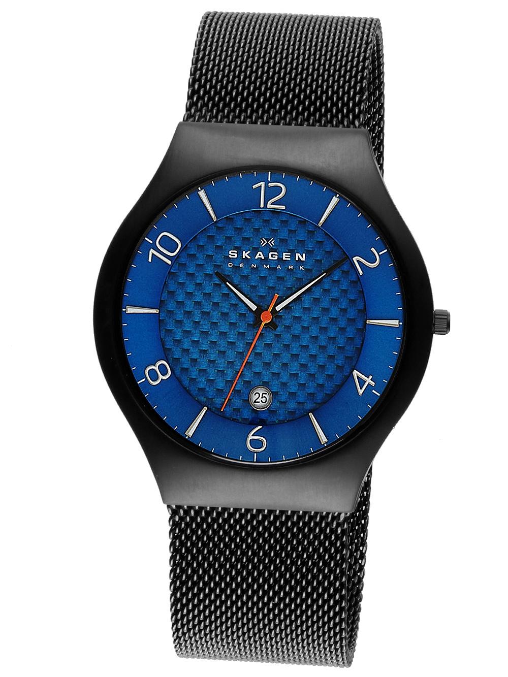 Skagen SKW6147 Herrenuhr Grenen Titanium schwarz blau 41mm