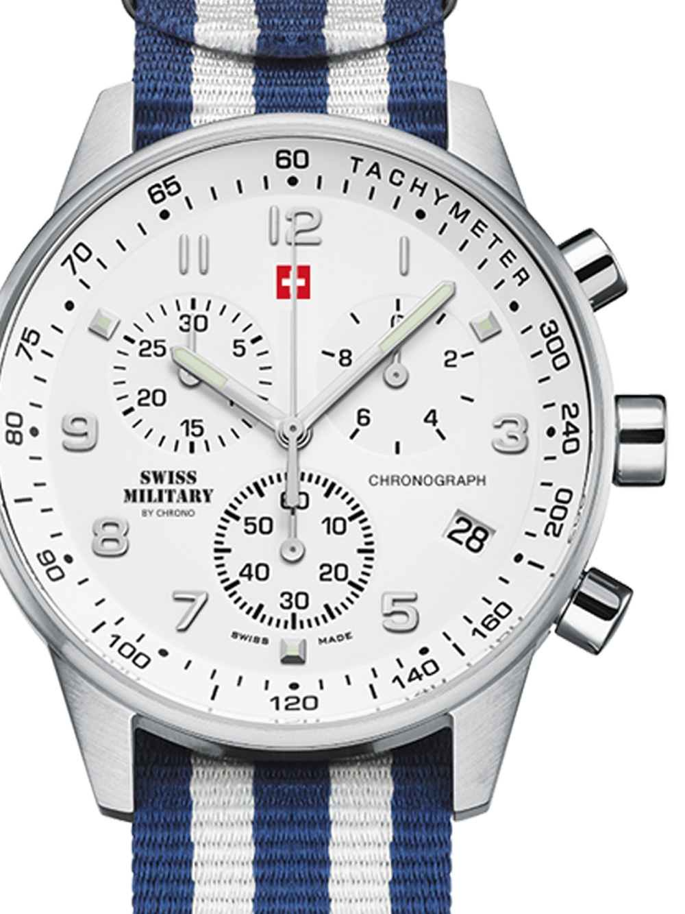 Swiss Military SM34012.15 Chronograph 41mm 5ATM