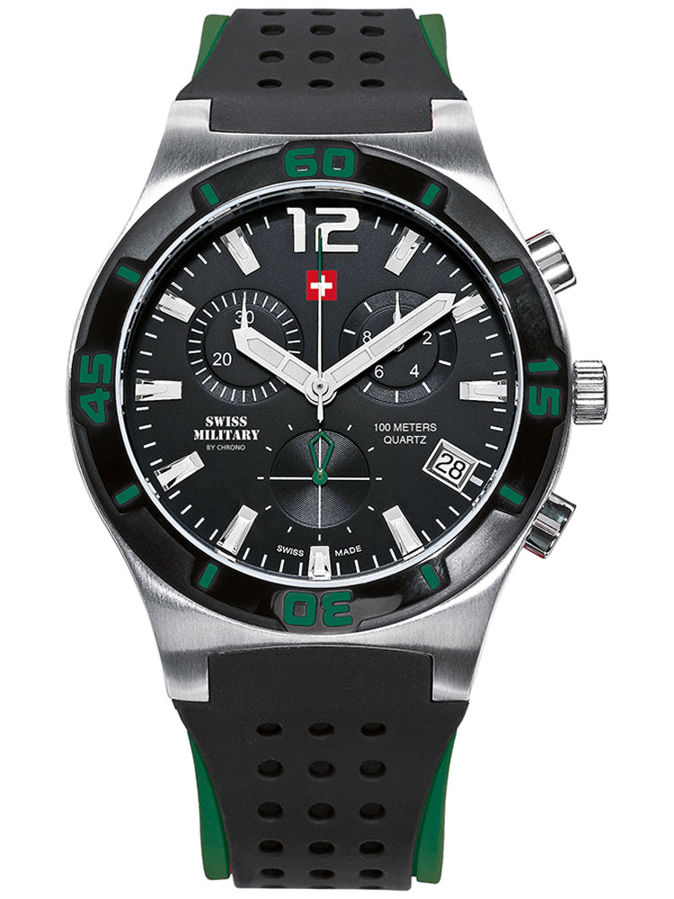 Swiss Military SM34015.07 Chronograph 43mm 10ATM