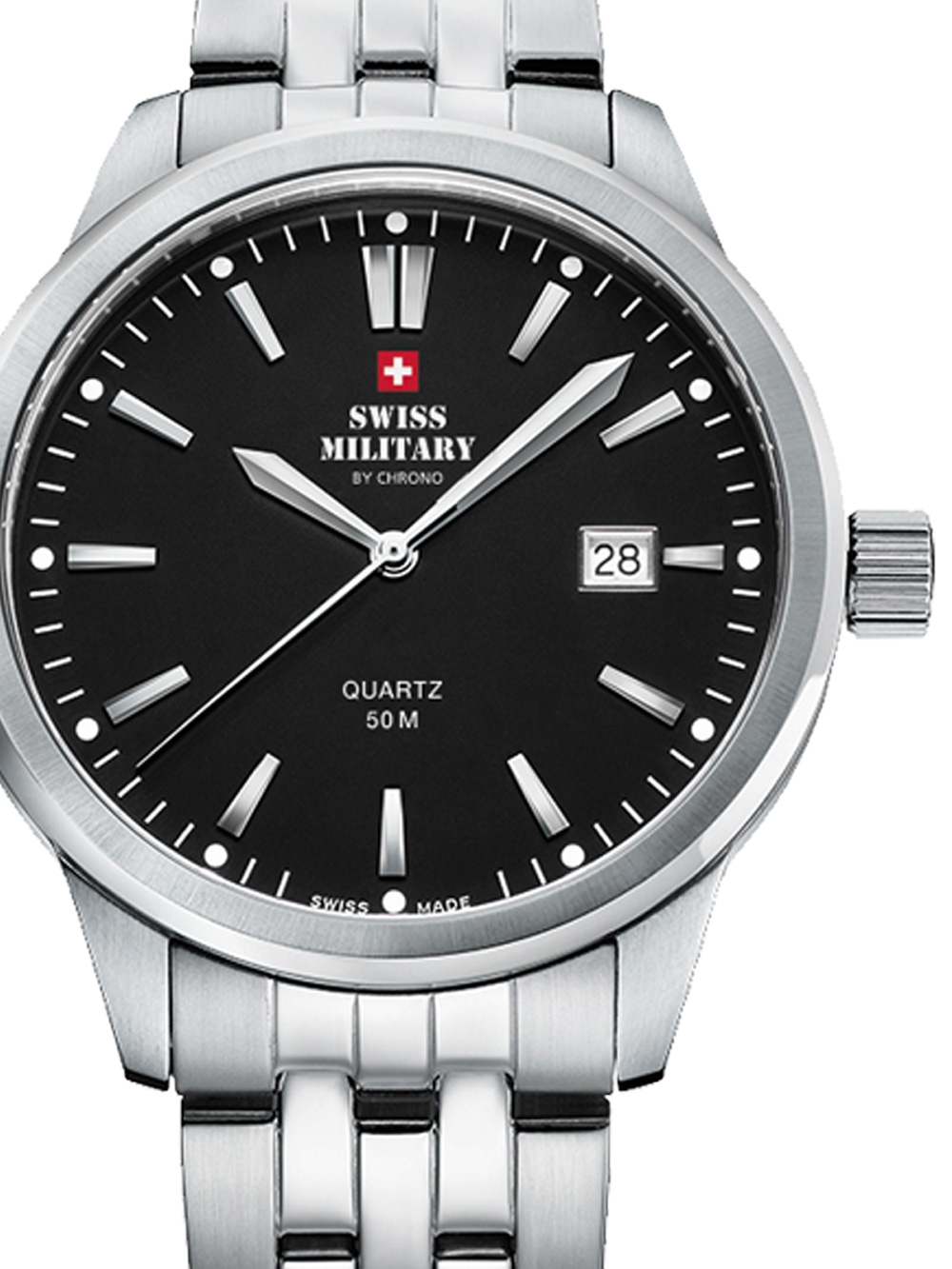 Swiss Military SMP36009.01 Herren 41mm 5ATM