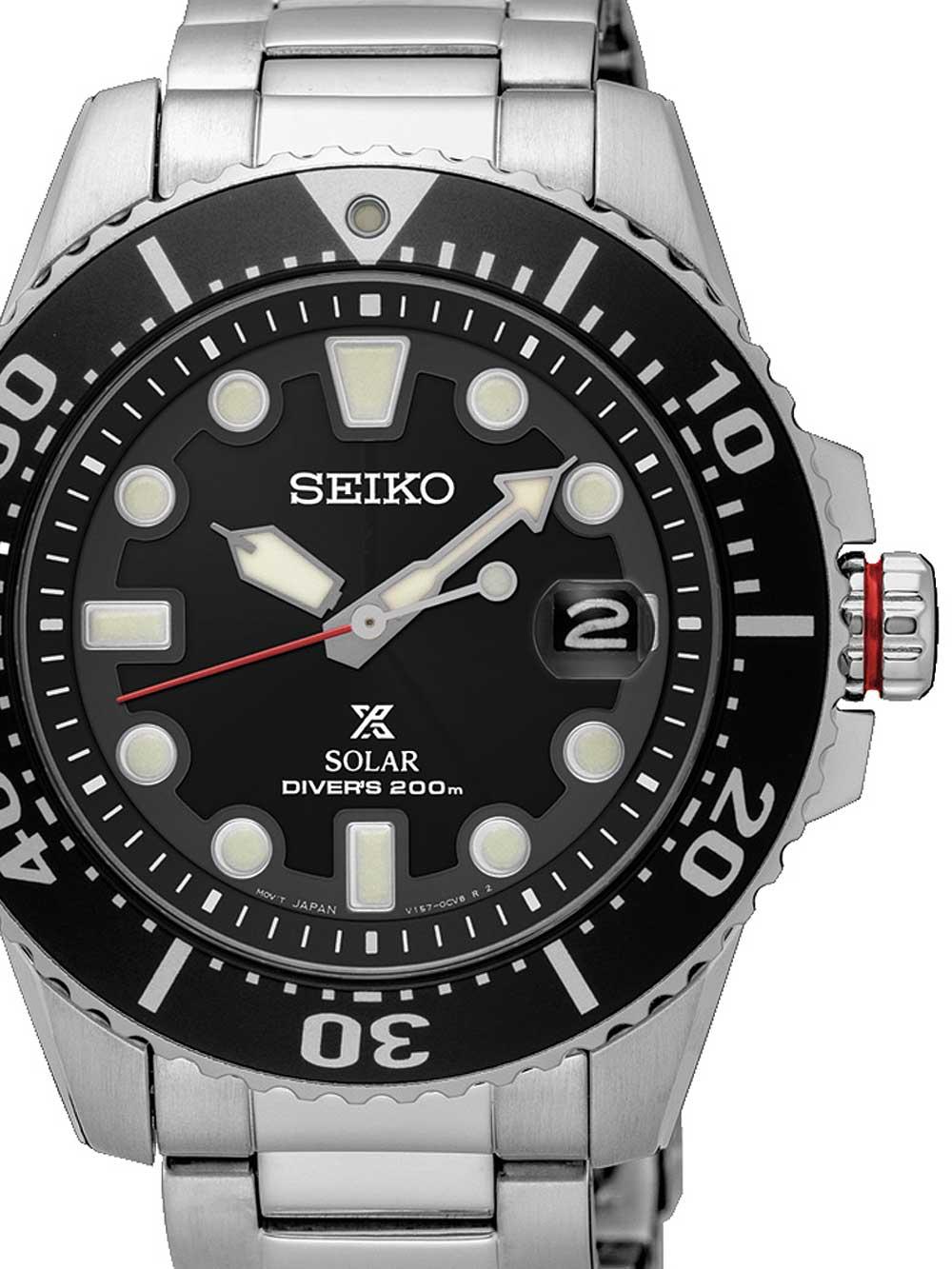 Seiko SNE437P1 Prospex Solar Divers Herren 44mm 20ATM