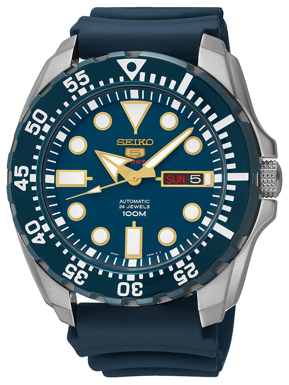 5 SRP605K2 Automatik Diver silber blau 44mm 100M