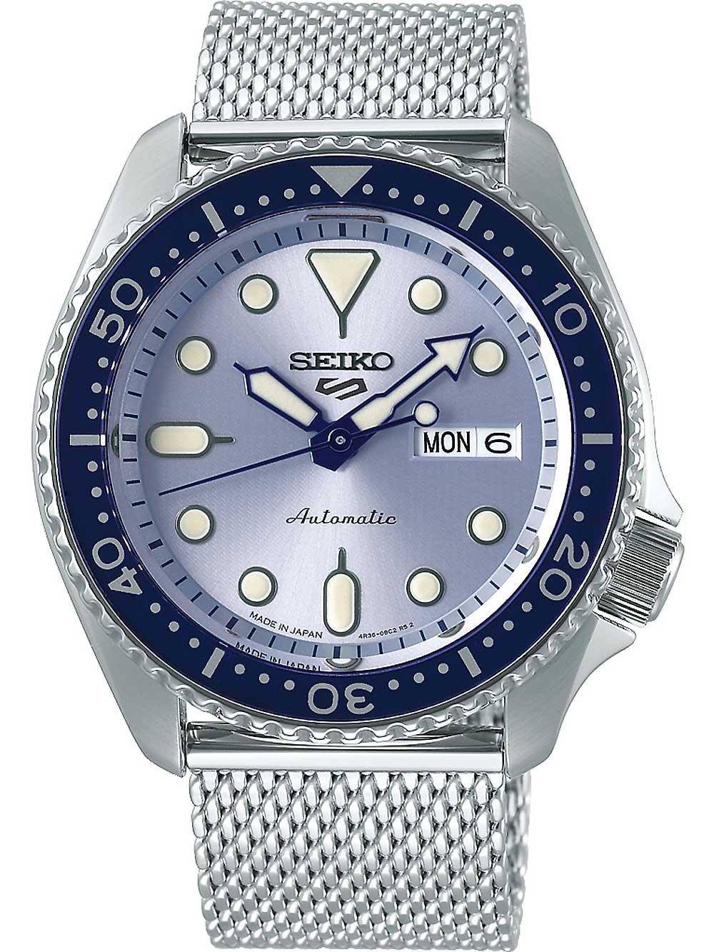 Seiko SRPE77K1 5 Sports Automatik 43mm 10ATM | Uhren > Automatikuhren | Seiko