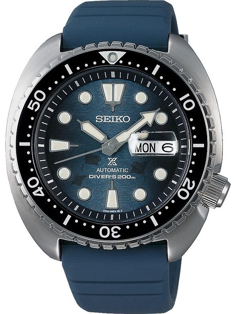 Seiko SRPF77K1 Prospex Diver Save the ocean Automatik 45mm 20ATM