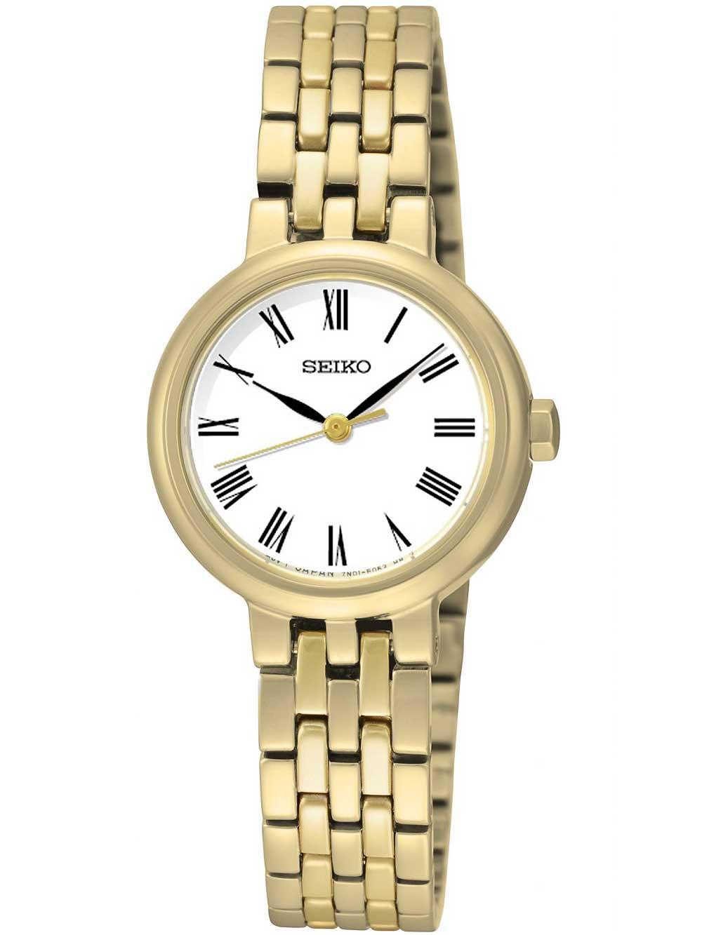 Seiko SRZ464P1 Ladies Classic Damenuhr gold 25mm 50M