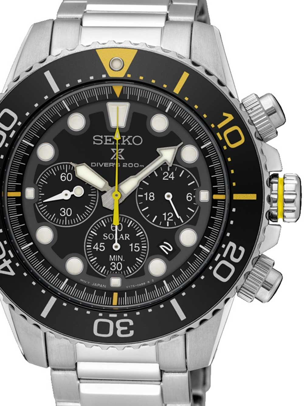 SSC613P1 Prospex Solar Diver Chronograph 43mm 20ATM