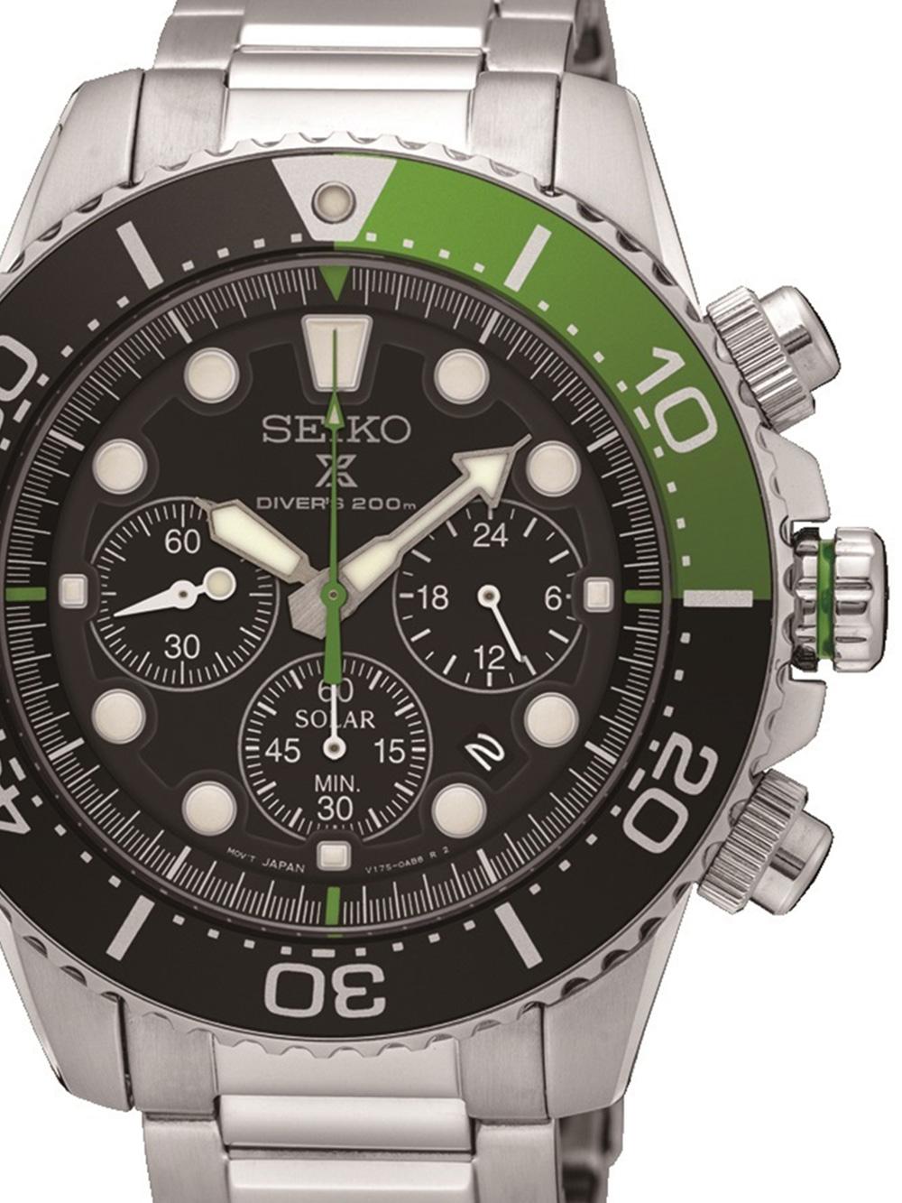 SSC615P1 Prospex Solar Diver Chronograph 43mm 20ATM