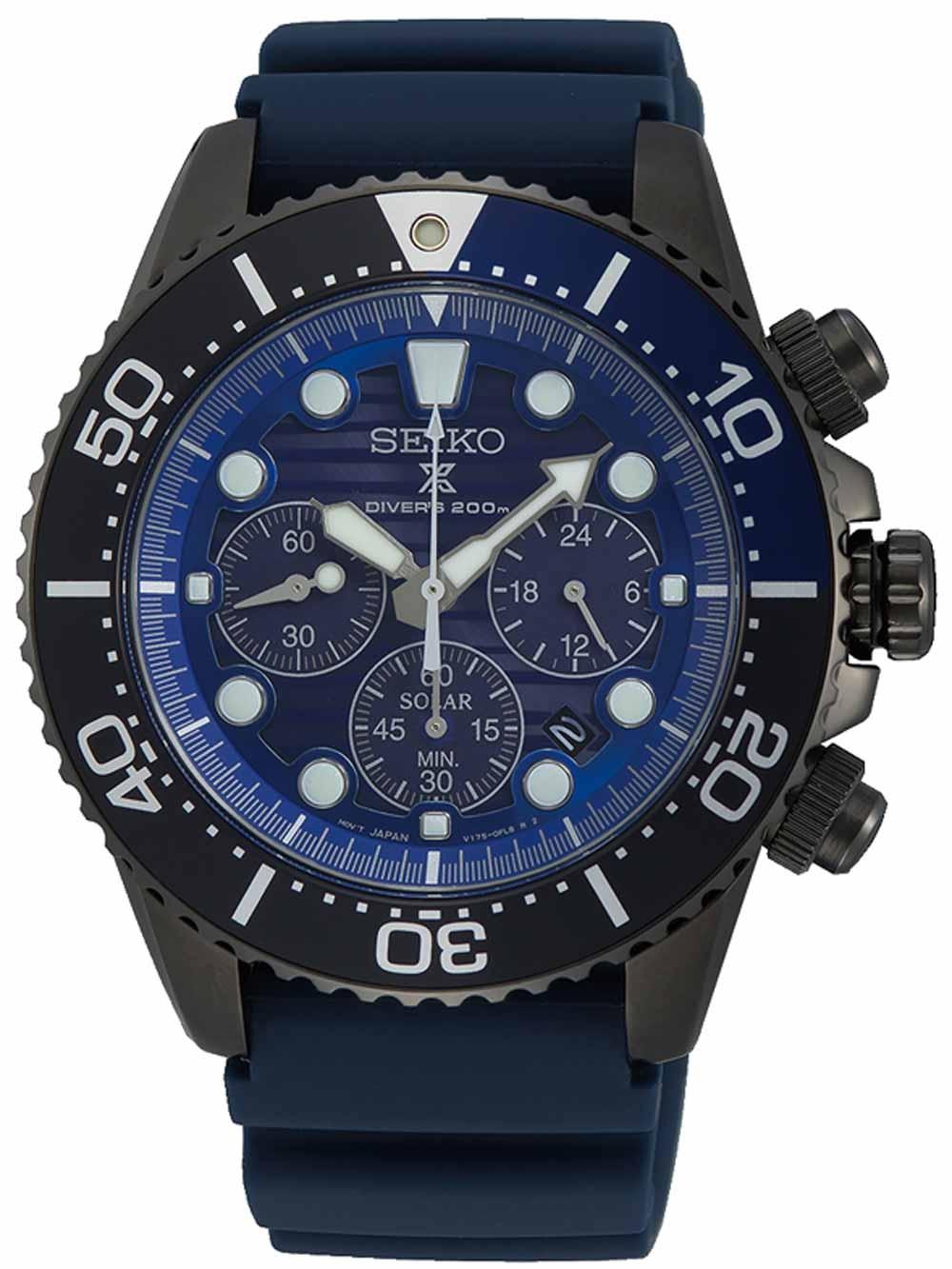 SSC701P1 Prospex Divers Save the ocean Chrono 43mm 20ATM