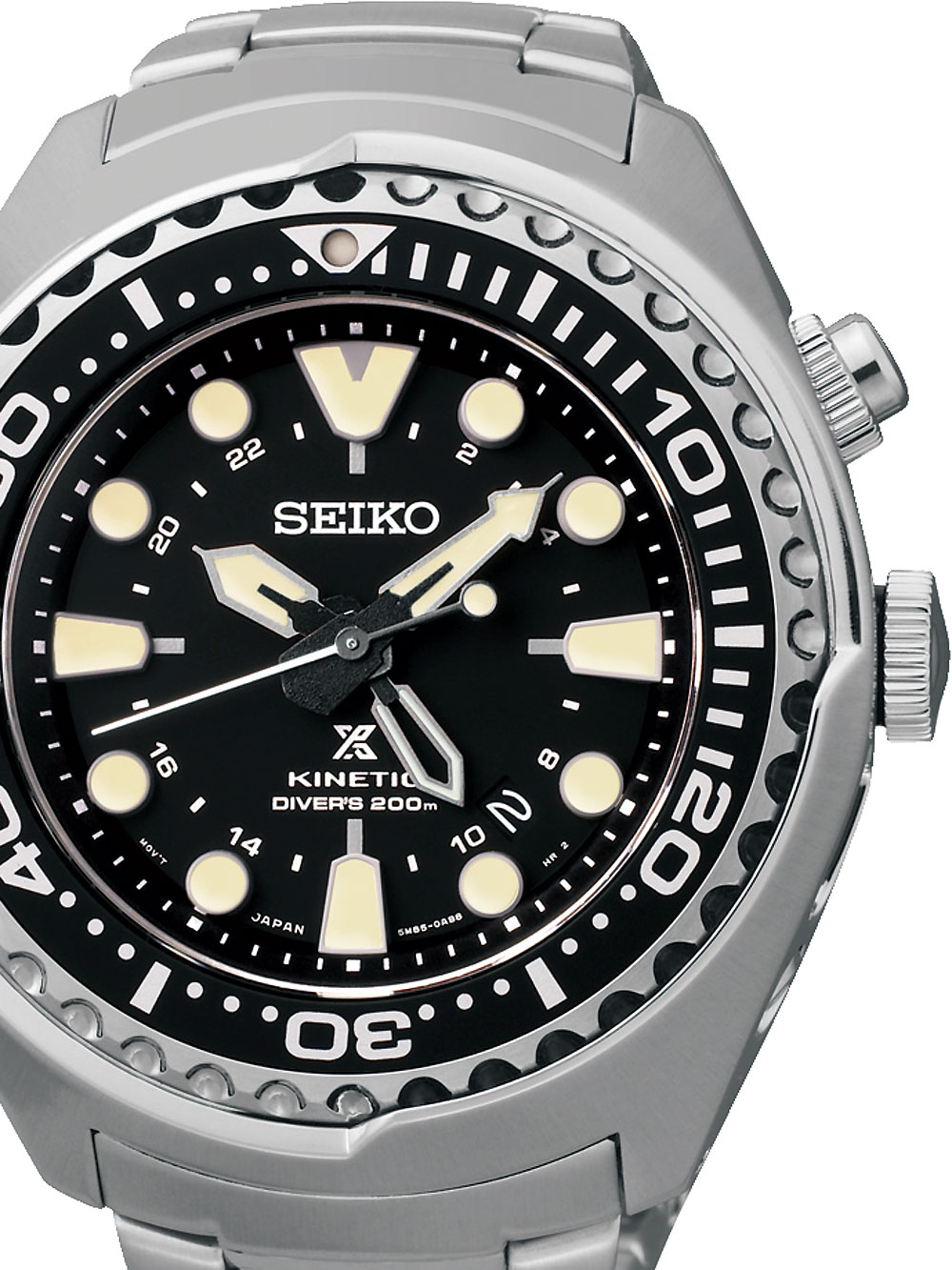 SUN019P1 Prospex Kinetic Diver GMT 200M 48mm