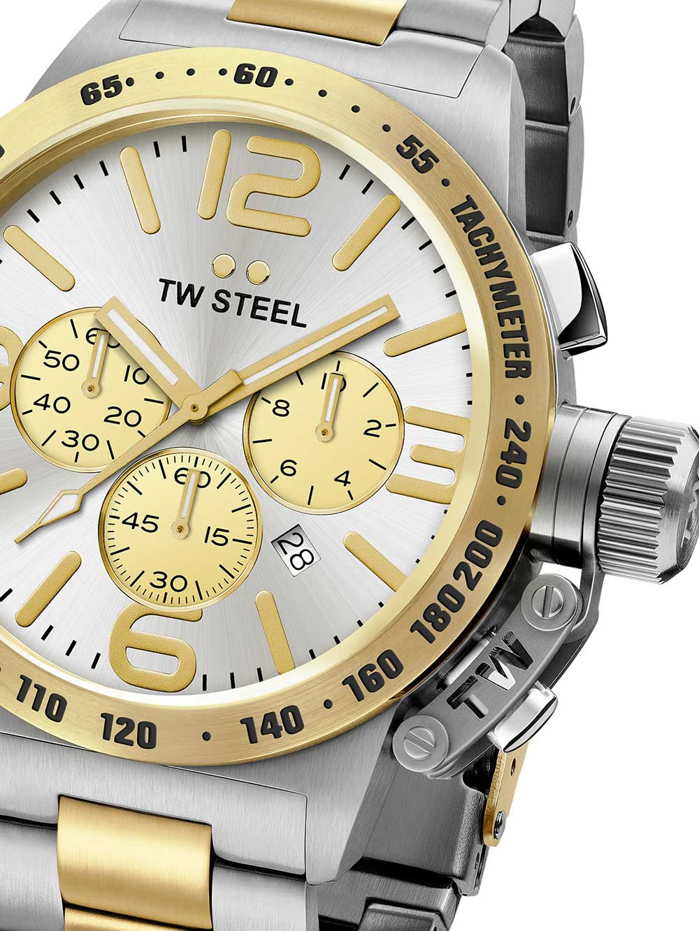TW-Steel CB33 Canteen Bracelet Chronograph 45mm 10ATM