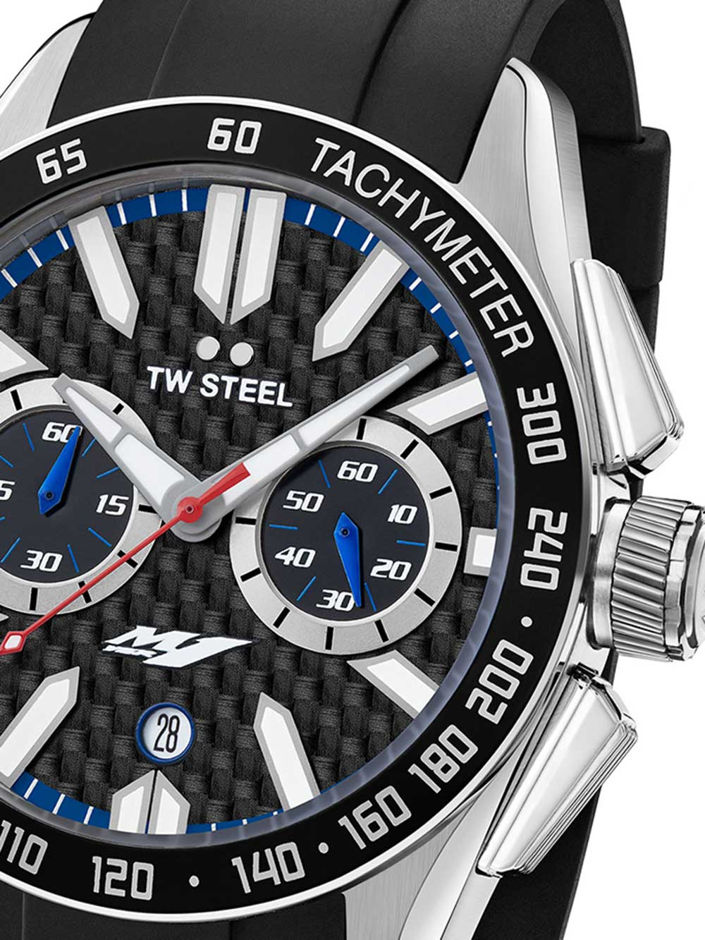 TW-Steel GS1 Yamaha Factory Racing Chronograph 42mm 10ATM