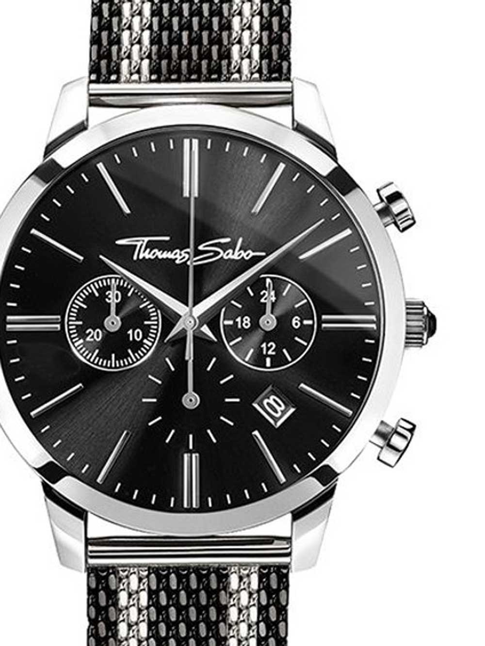 Thomas Sabo WA0284-280-203 Rebel Spirit Chrono Herren 42mm 5ATM