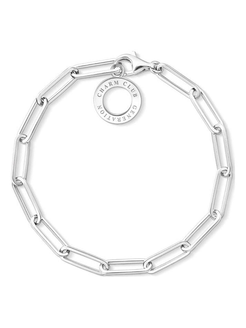 Thomas Sabo Armband Charm-Armband X0259-001-21 19cm | Schmuck > Armbänder > Charm-Armbänder | Thomas Sabo