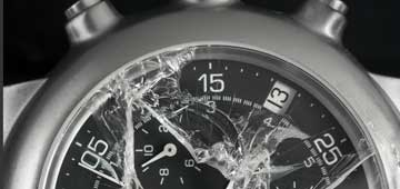 Glaswechsel Uhr