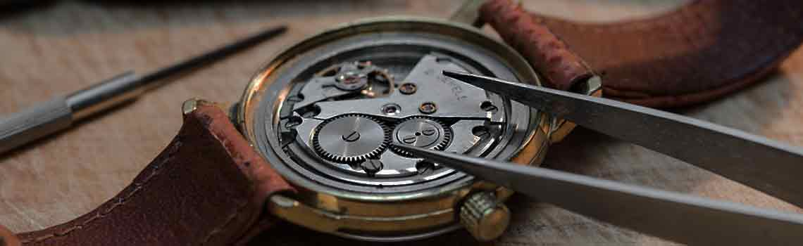Uhrmacher Werkstatt