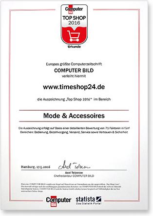 Top Shop Zertifikat