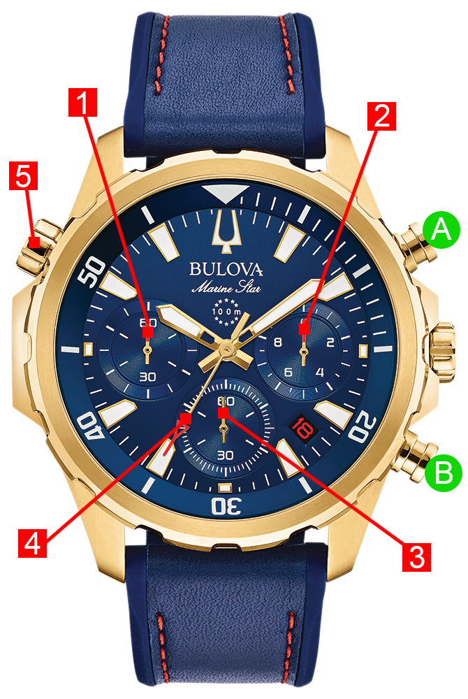 Bulova MARINE STAR Manual